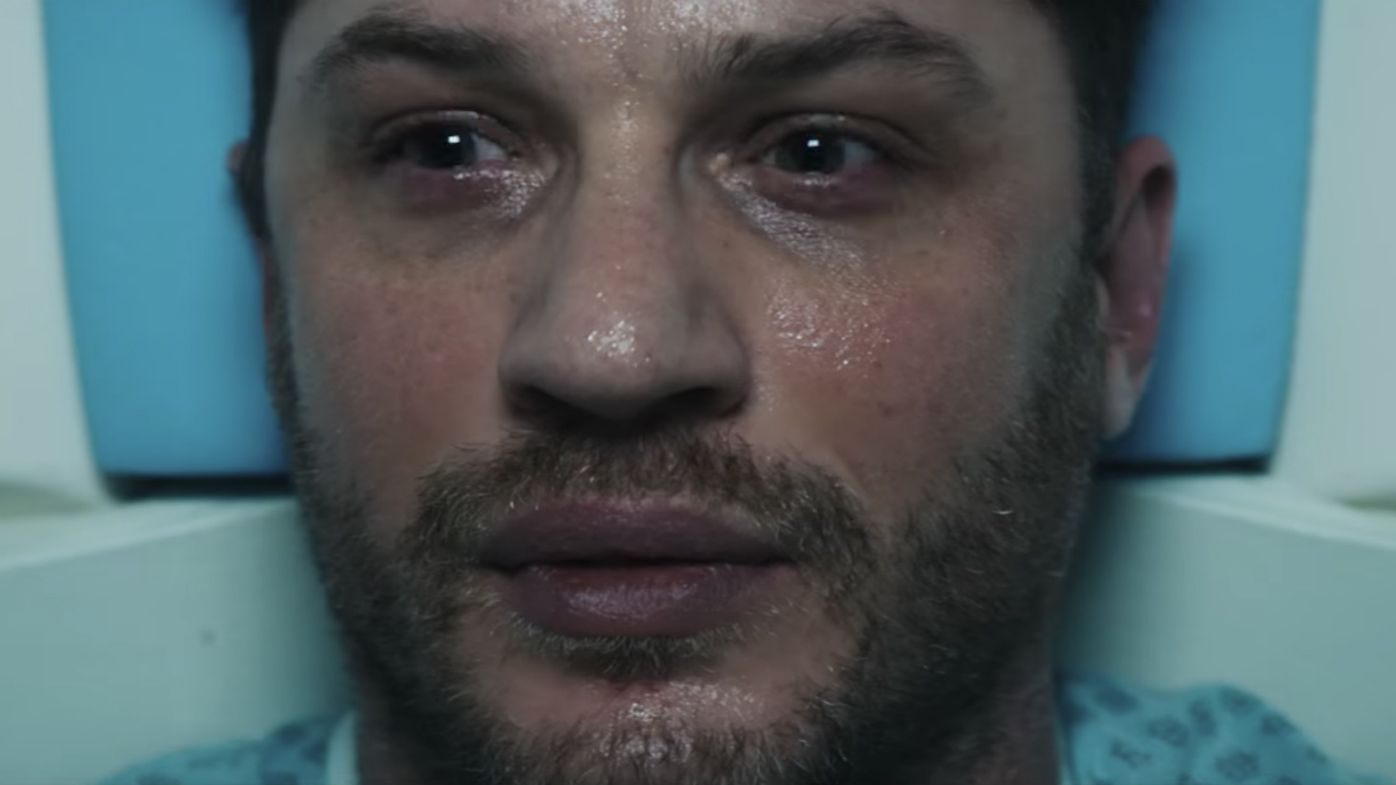 In the first moody trailer for Venom, Tom Hardy has demons