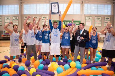 World's longest basketball game honours mental health awareness