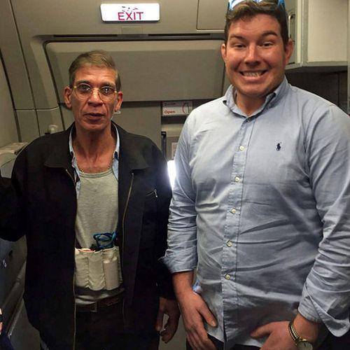 British man photographed with hijacker bragged to mates