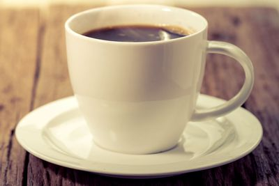 Have water, tea or coffee — but make it decaf