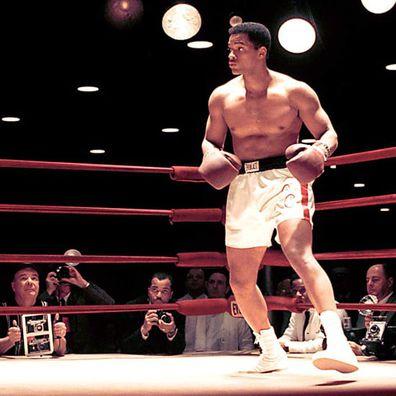 Will Smith in Ali playing  Muhammad Ali
