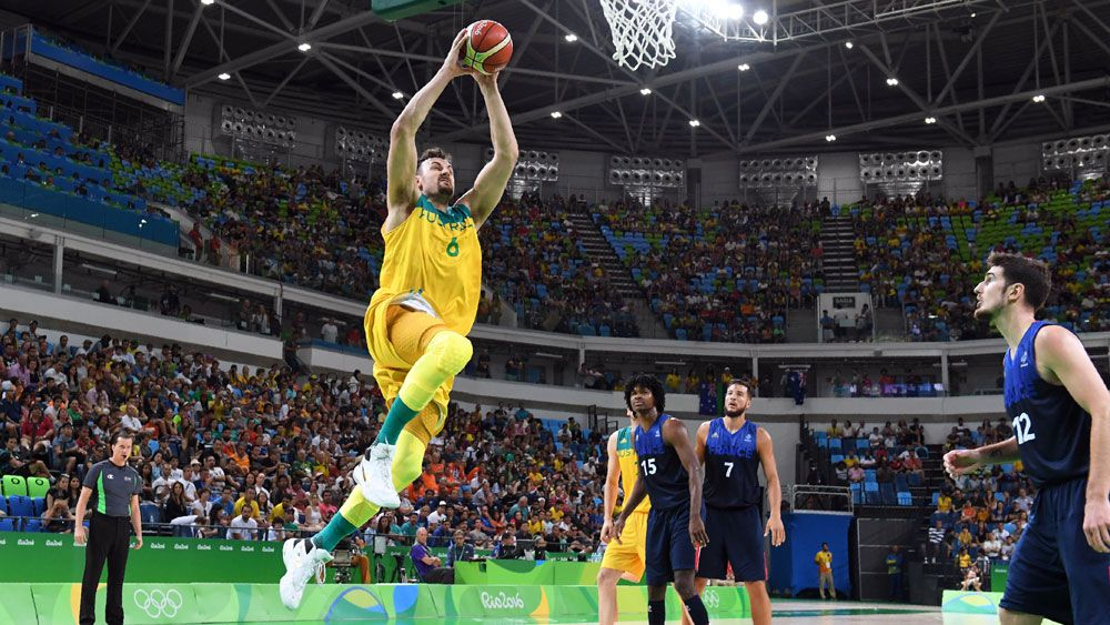 Bogut stars in Boomers' win