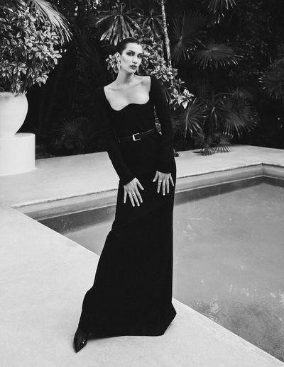 <p>Bella Hadid for Vogue Mexico's July issue</p>