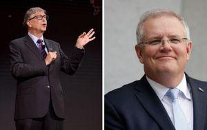 Coronavirus: PM Scott Morrison talks with Bill Gates over World Health Organisation's future amid pandemic