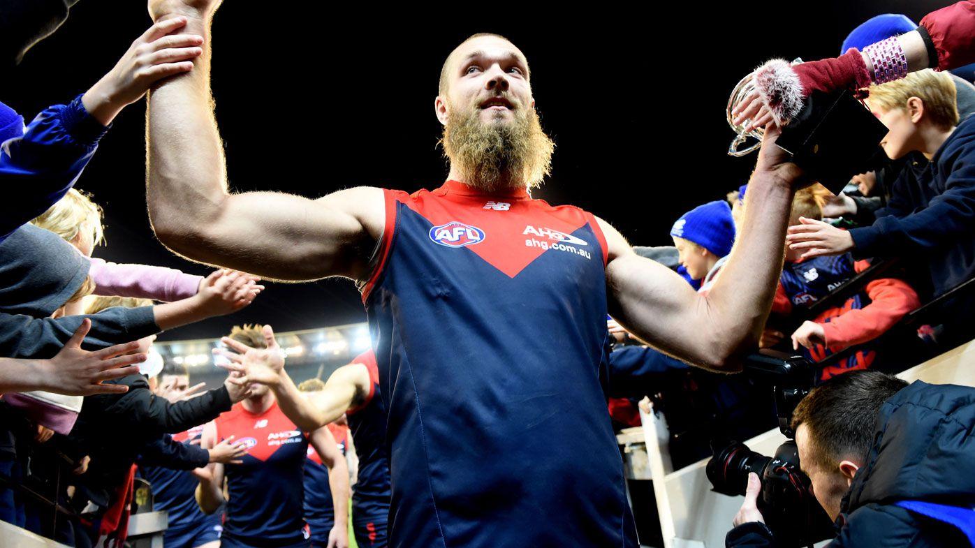 AFL news: Melbourne Demons ruckman Max Gawn reveals massive weight loss