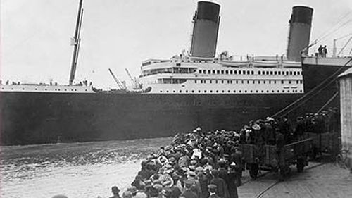 Photograph of RMS Titanic leaving port (Getty)