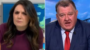 Meteorologist Laura Tobin clashes with MP Craig Kelly on Good Morning Britain.