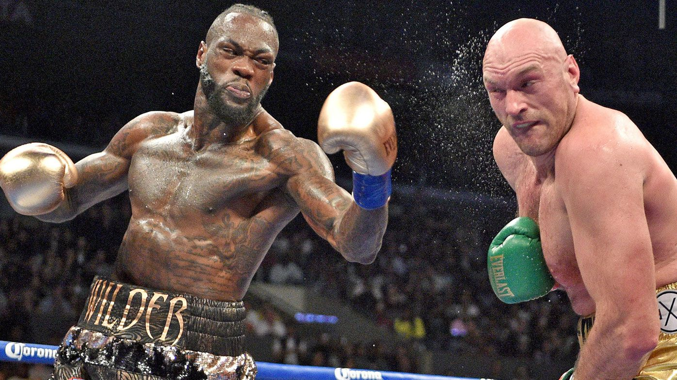 Deontay Wilder says he broke his arm before Tyson Fury bout