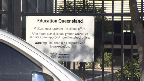 The state's education department says a total seven percent of state school students were suspended or expelled. Picture: 9NEWS