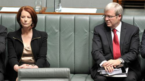 Gillard emailed Rudd warning about popularity