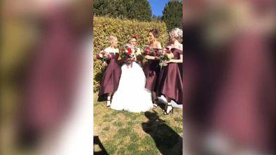 'Doughnut Bride' debuts sweet bouquet