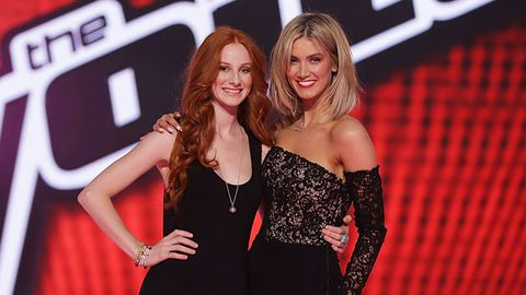EXCLUSIVE! <i>The Voice</i>'s Celia Pavey: How Delta got me through to the grand finale