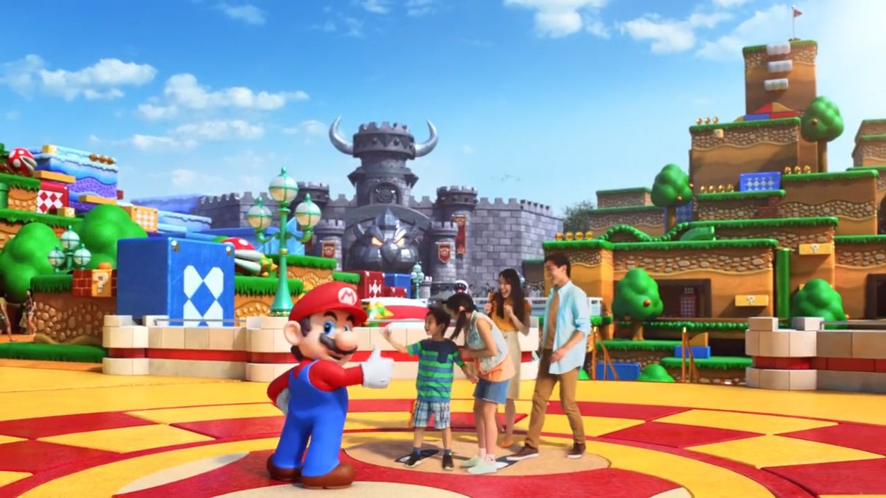 Inside Super-Nintendo World' theme park in Japan