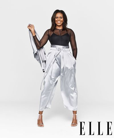 Michelle Obama for <em>Elle USA </em>December 2018
