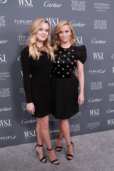 Ava Phillippe and Reese Witherspoon at the WSJ Magazine 2017 Innovator Awards at Museum of Modern Art in New York, November, 2017