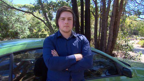 Jordan Gunning has had his car damaged by a Thrifty rental vehicle.