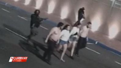 Hostages used as human shields in brazen bank heist