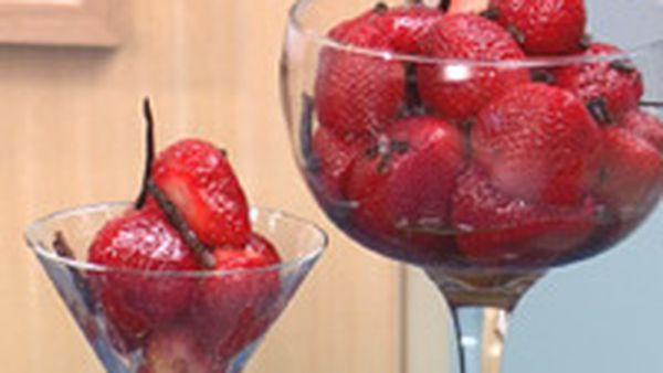 strawberries and olive oil recipe