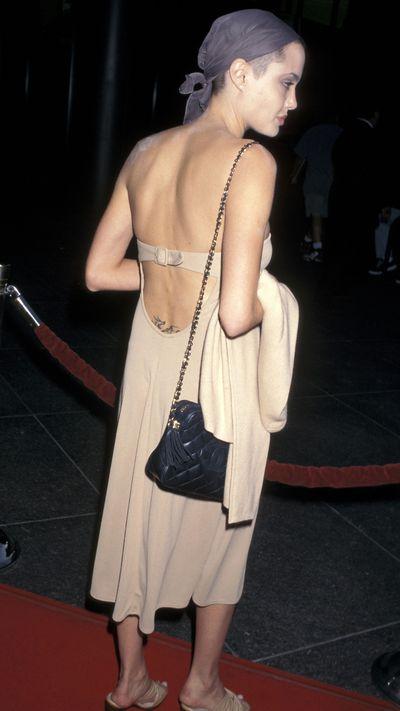Angelina Jolie: Then...