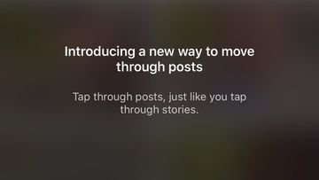 Instagram update horizontal feed