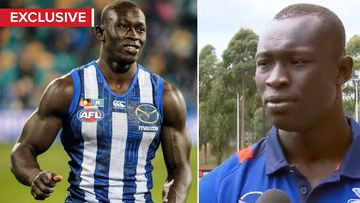 AFL's first Sudanese-born player on a better future for African youths
