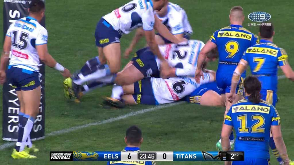 Alvaro extends Eels' lead