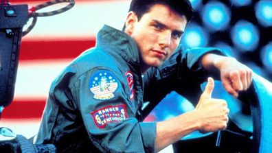 Tom Cruise in Top Gun the 1986 original film
