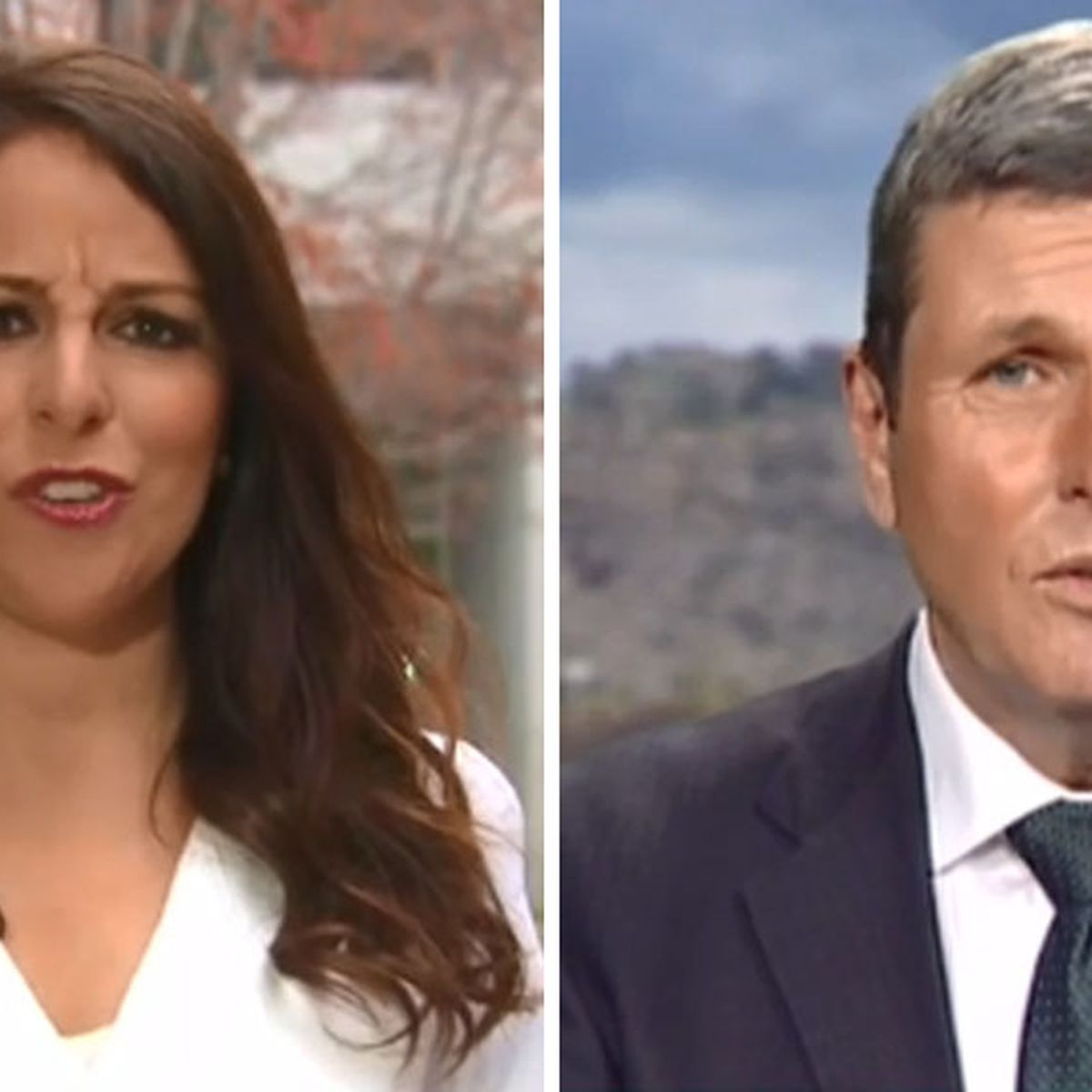 Leadership spill: Chris Uhlmann and Sharri Markson debate on live TV about  News Corp and reporting