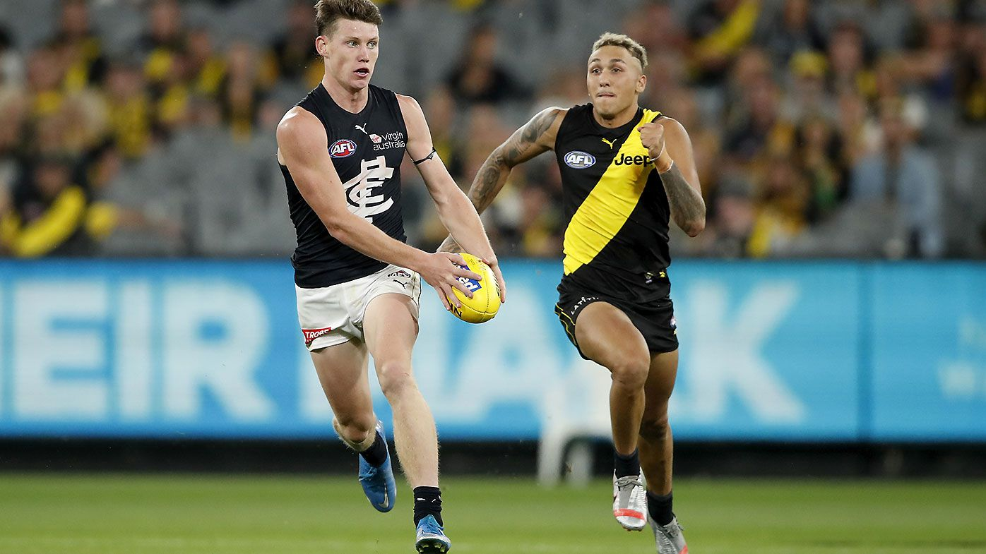 Sam Walsh 'gone straight past' Patrick Cripps as Carlton's No.1 tagging target