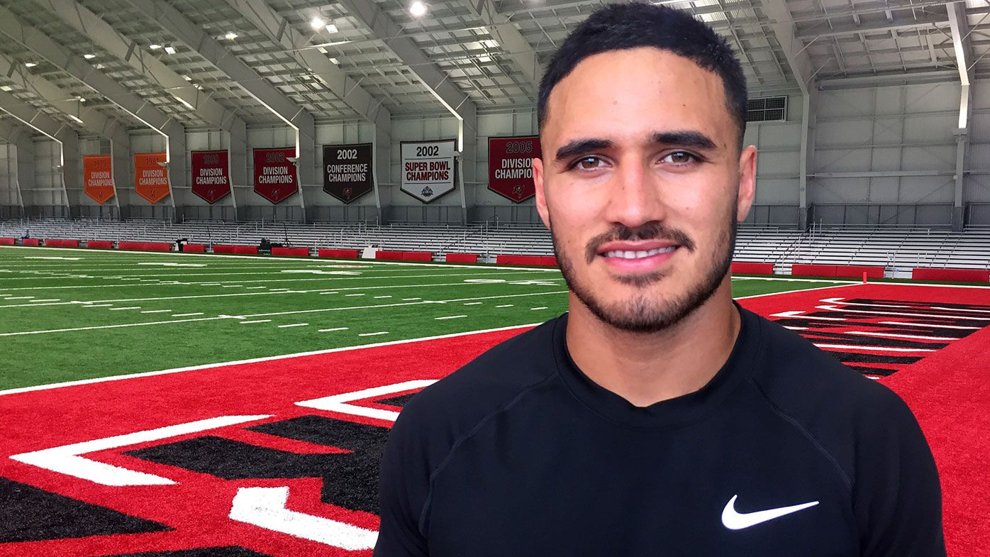 Valentine Holmes silent about NFL future, manager shopping around annoucement