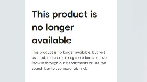 The wicker is no longer available online from Kmart Australia.