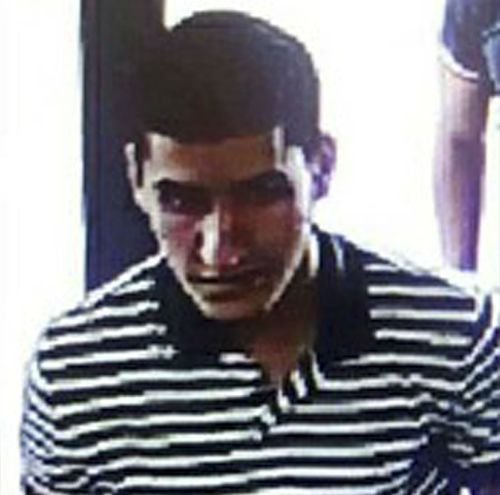 The suspect accused of driving the van, Younes Abouyaaqoub. (AP)