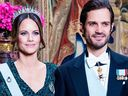 Princess Sofia Princess Victoria Swedish Royals banquet