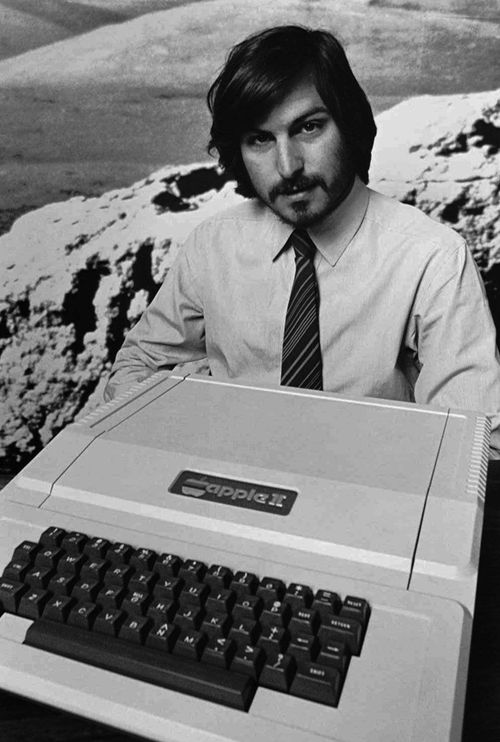 Steve Jobs introduces the new Apple II  in 1977, just a few years before he started publically talking about the kind of technology Apple would roll out with Siri.