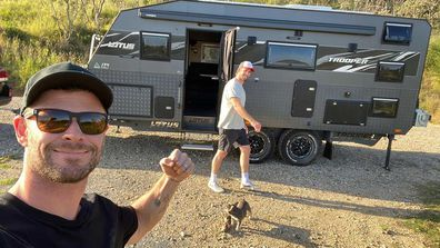 Chris and Liam Hemsworth ventured to Queensland for a weekend getaway.