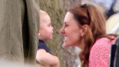 Adorable Prince Louis and Kate moment everyone missed