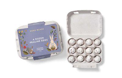 Koko Black A Dozen Praline Eggs, $24.90