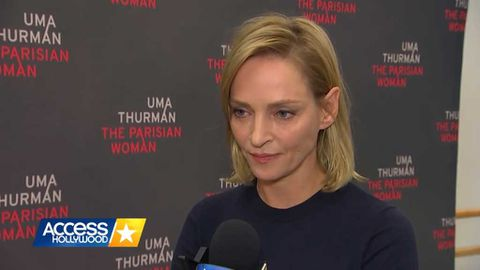 Uma Thurman responds to Harvey Weinstein scandal