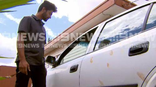 Asish Kumar narrowly avoided having his car covered in fresh chicken.