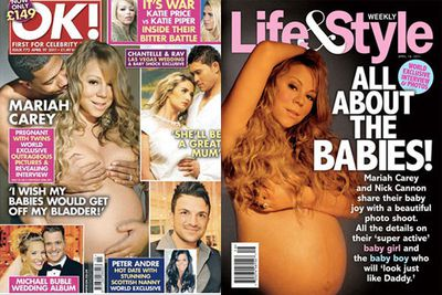 Pregnant Mimi was all class in <i><b>OK!</b></i> and <i><b>Life&Style</b></i>.
