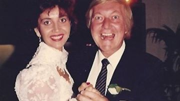 Shar Moore and her stepfather.