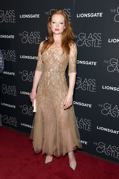Sarah Snook&nbsp;at the premier of&nbsp;<em>The Glass Castle</em>.