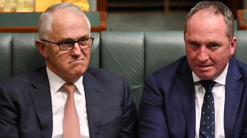 The ability of Malcolm Turnbull and Barnaby Joyce to continue working together has been publicly questioned.