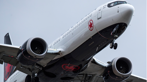 Air Canada flight diverted