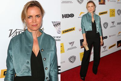 <i>Big Sur</i> actress Radha Mitchell rocked a jumpsuit on the red carpet while chatting to TheFIX about her busy year ahead.