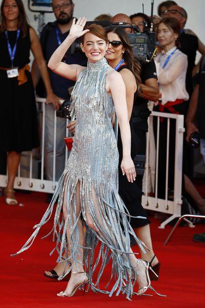 3. Emma Stone in Atelier Versace