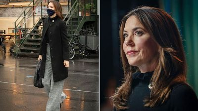 Princess Mary attends youth meeting, November 2020