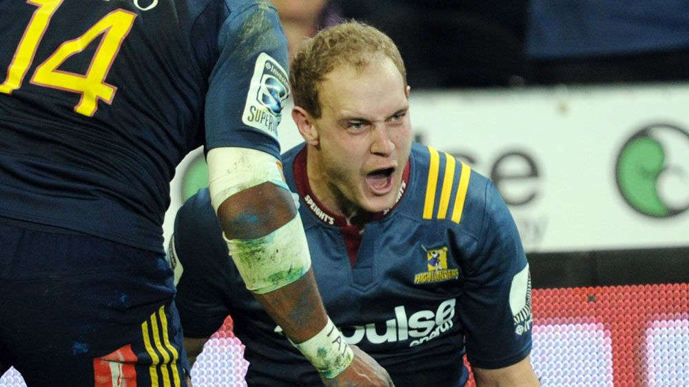 Highlanders beat Crusaders in Super Rugby