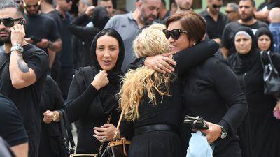 Bikies farewell Hawi at Sydney funeral