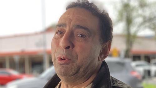 Mr Cracea has been left heartbroken after his pizzeria burnt down.